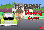����� ���� ��� ����� - Mr Bean Dressup Games